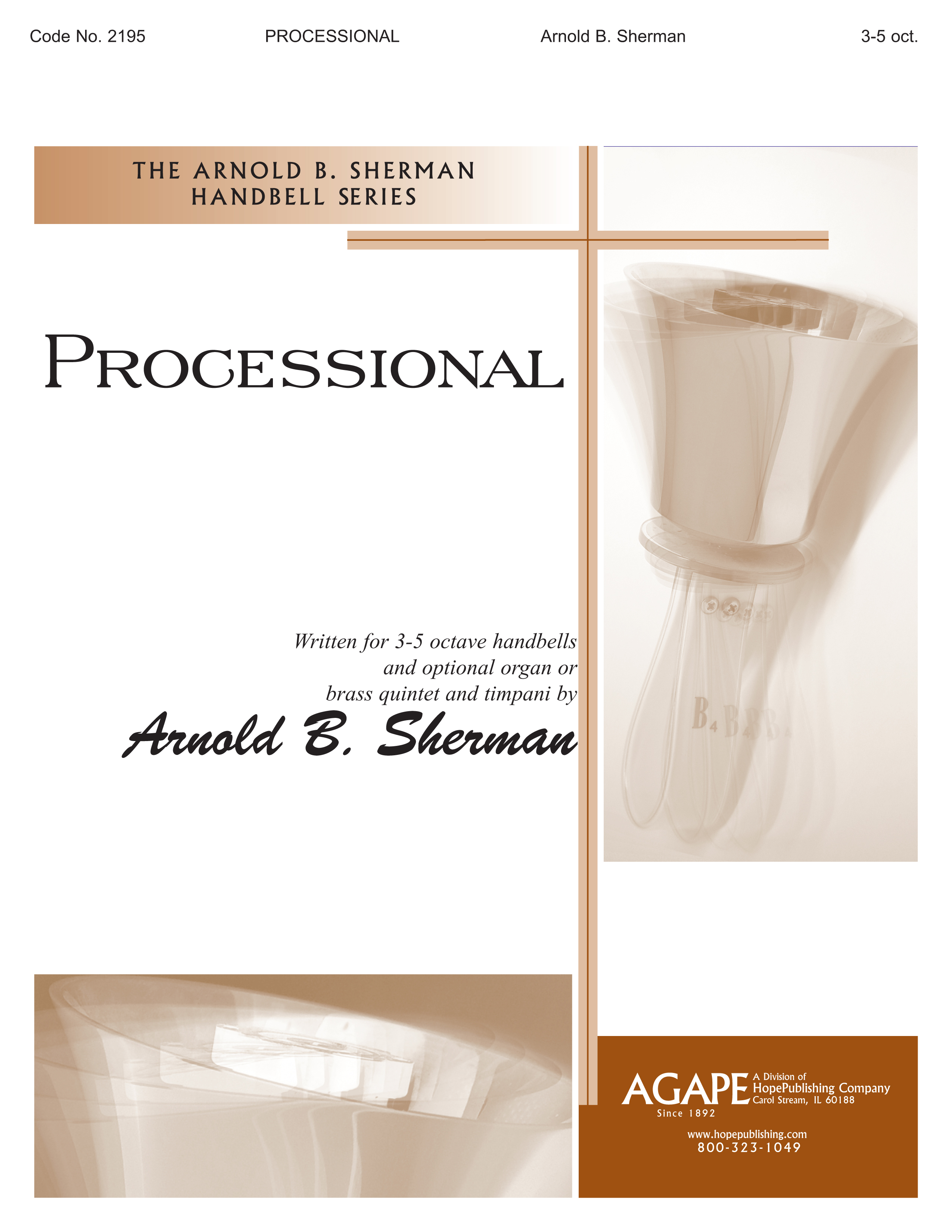 Processional - 3-5 Octave Cover Image
