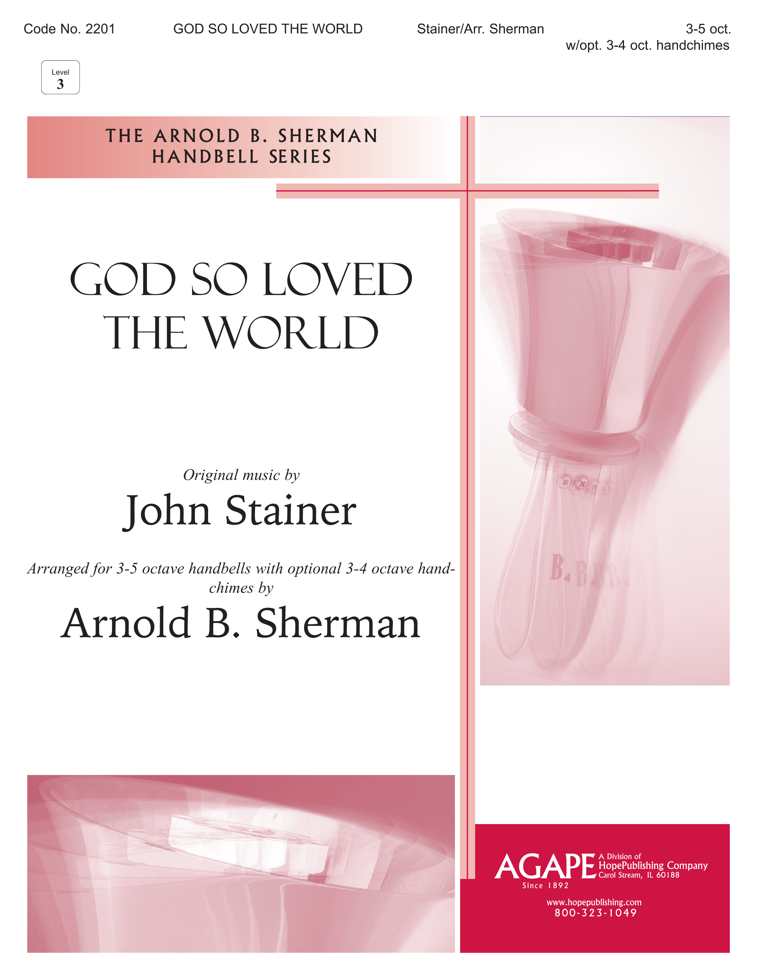 God So Loved the World - 3-5 Octave Cover Image