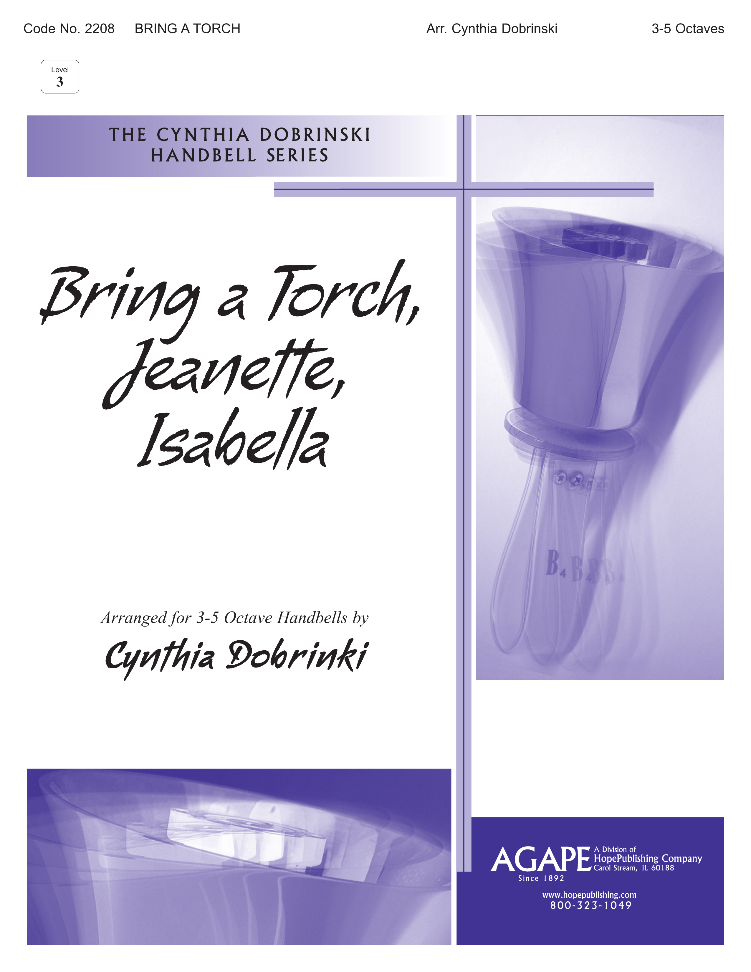 bring a torch jeanette isabella 3 5 octave cover image