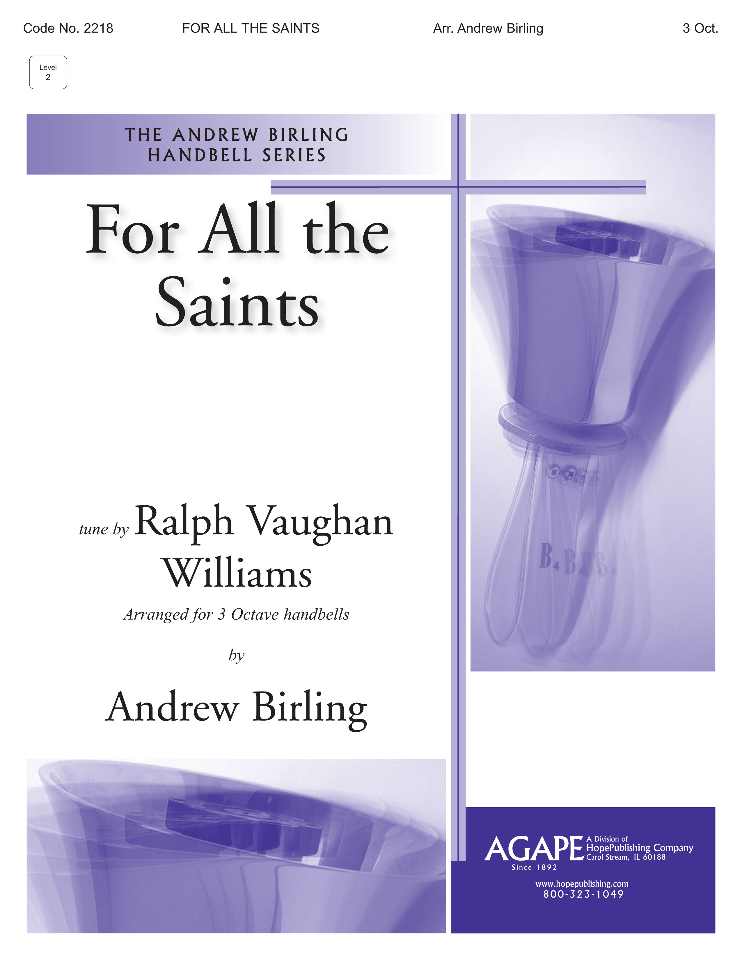 For All the Saints - 3 Octave Cover Image