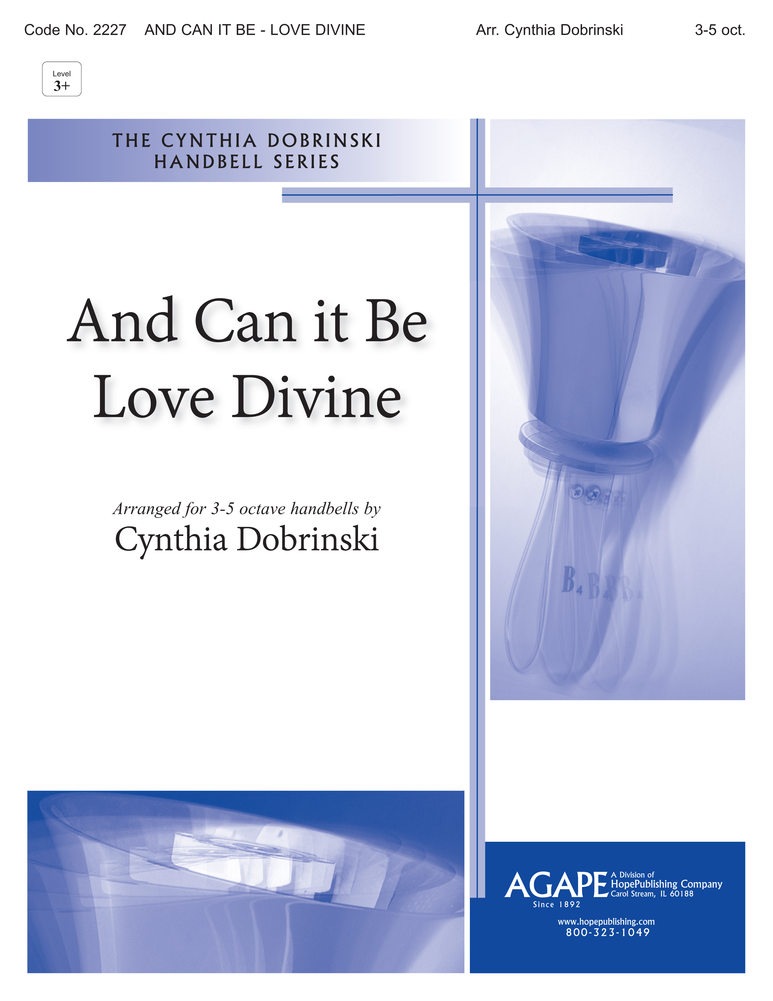 And Can It Be w-Love Divine - 3-5 Octave Cover Image