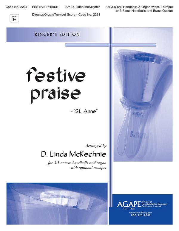 Festive Praise - 3-5 Octaves Ringers Edition Cover Image