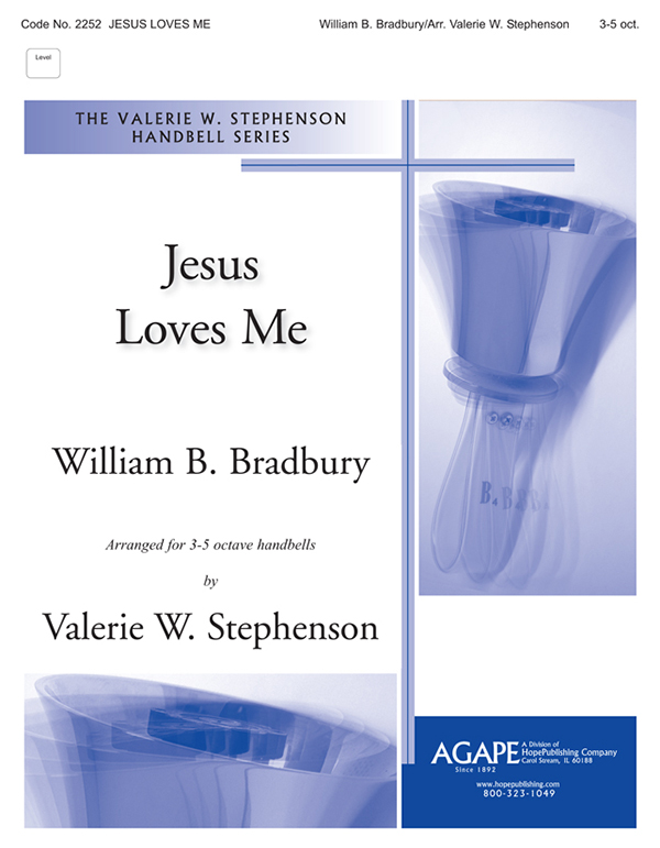 Jesus Loves Me - 3 or 5 Octave Cover Image
