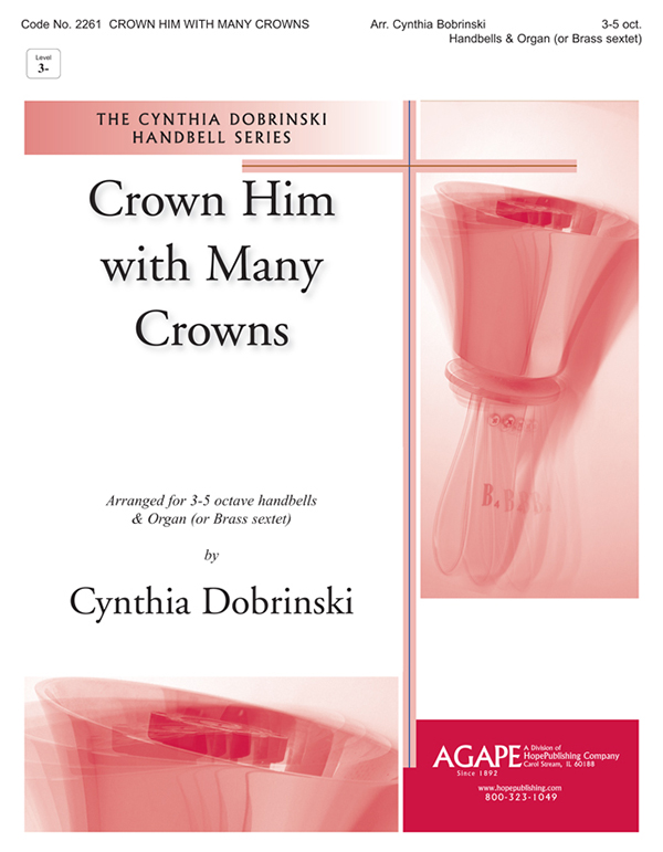 Crown Him with Many Crowns - 3-5 Octave Cover Image