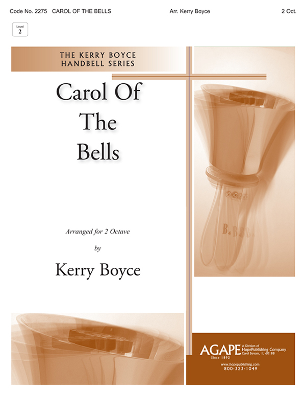Carol of the Bells - 2 Octave Cover Image