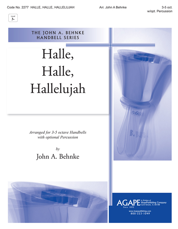 Halle Halle Hallelujah - 3-5 Octave Cover Image