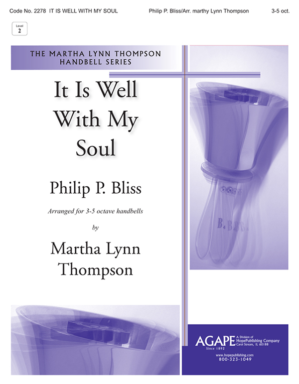 It Is Well With My Soul - 3-5 Octave Cover Image