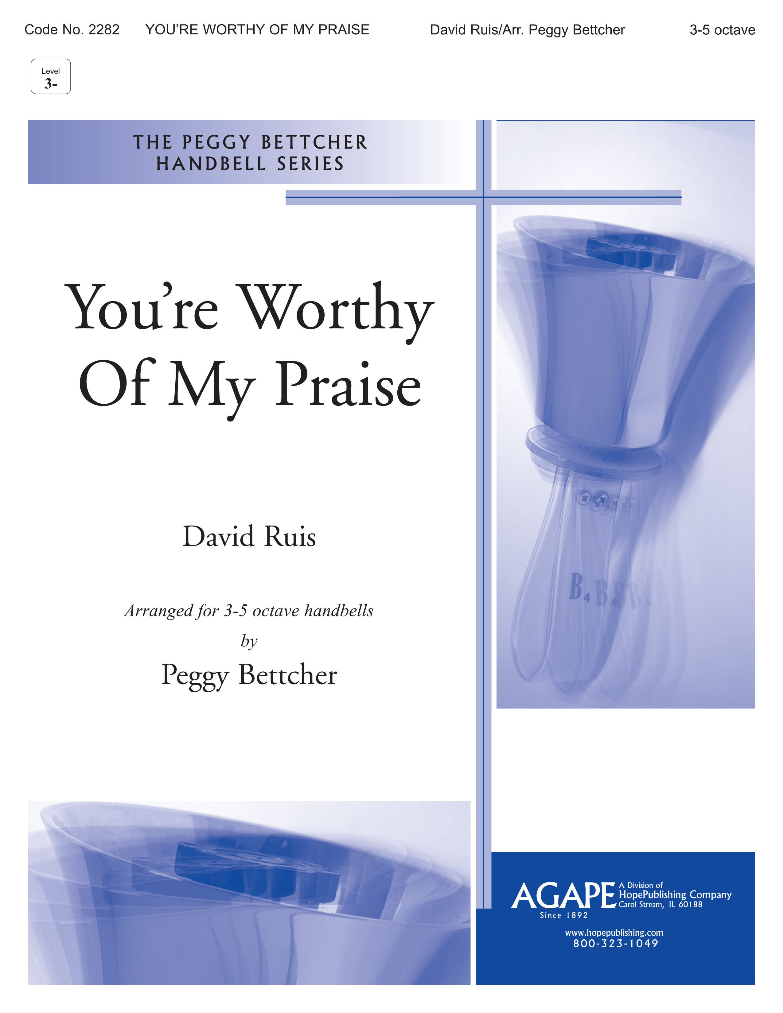 You're Worthy of My Praise - 3-5 Octave Cover Image