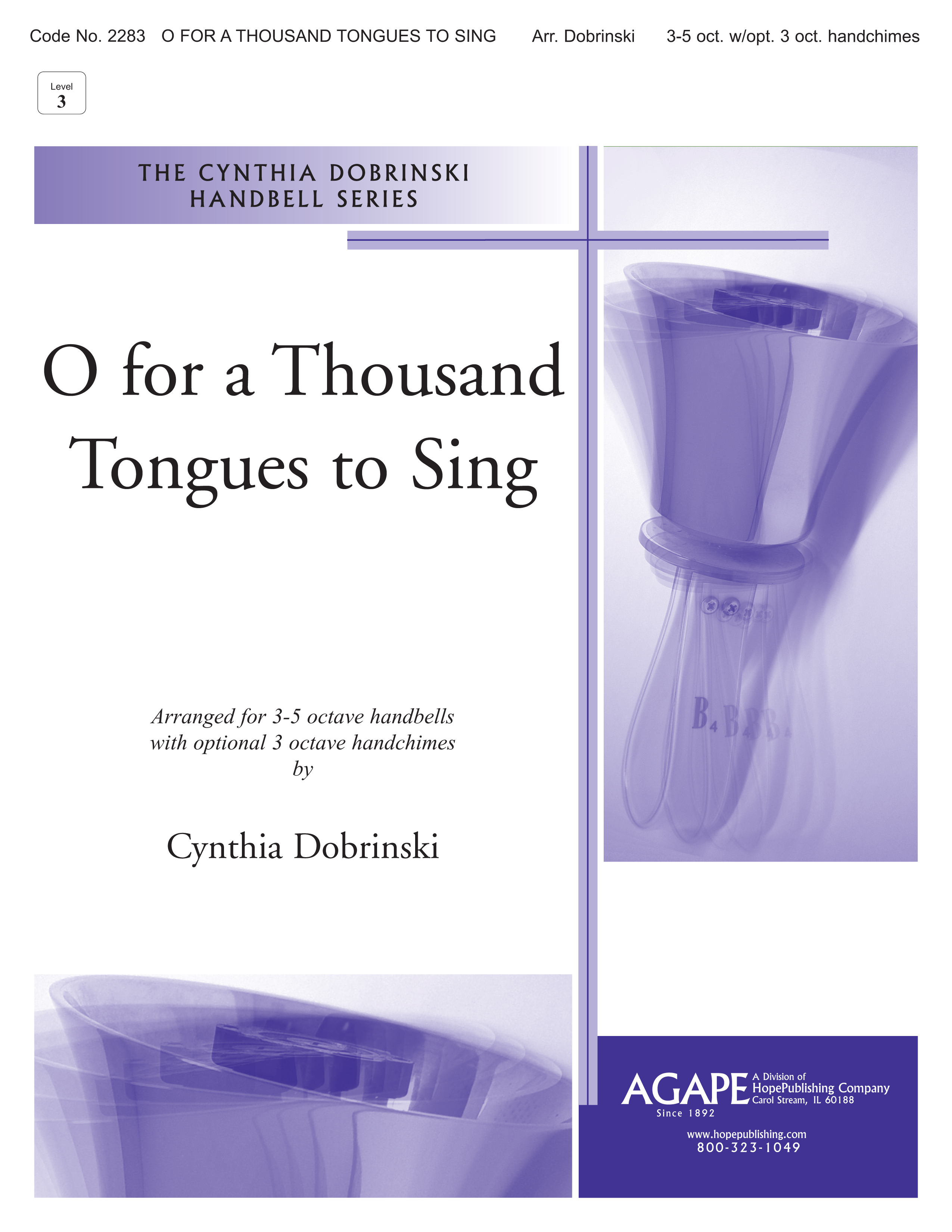 O for a Thousand Tongues to Sing - 3-5 Octave Cover Image