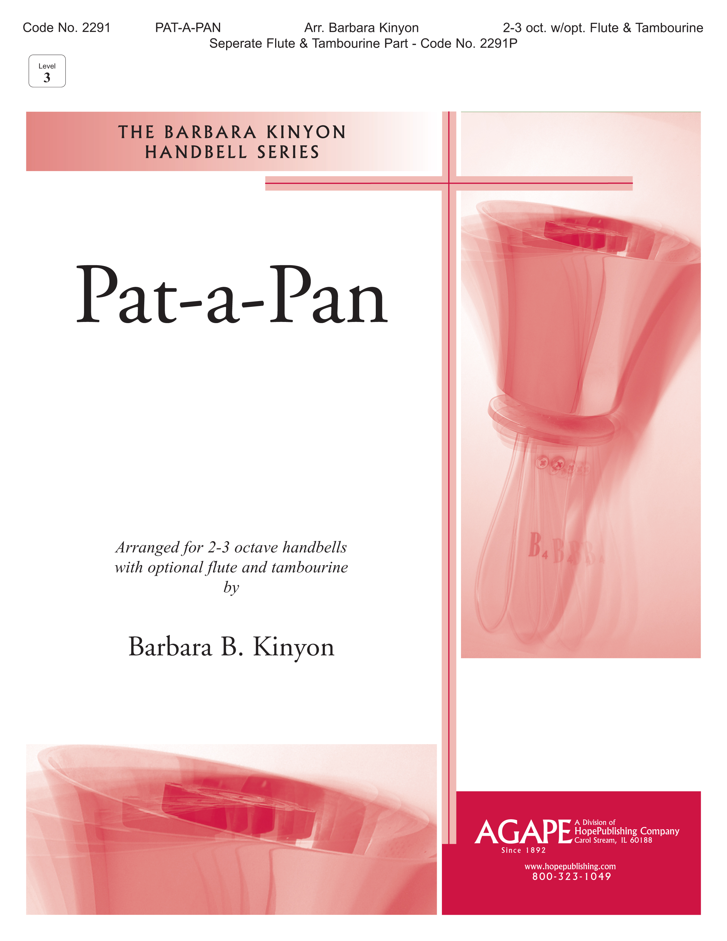 Pat-a-Pan - 2-3 Octave w-opt. Flute and Tambourine Cover Image