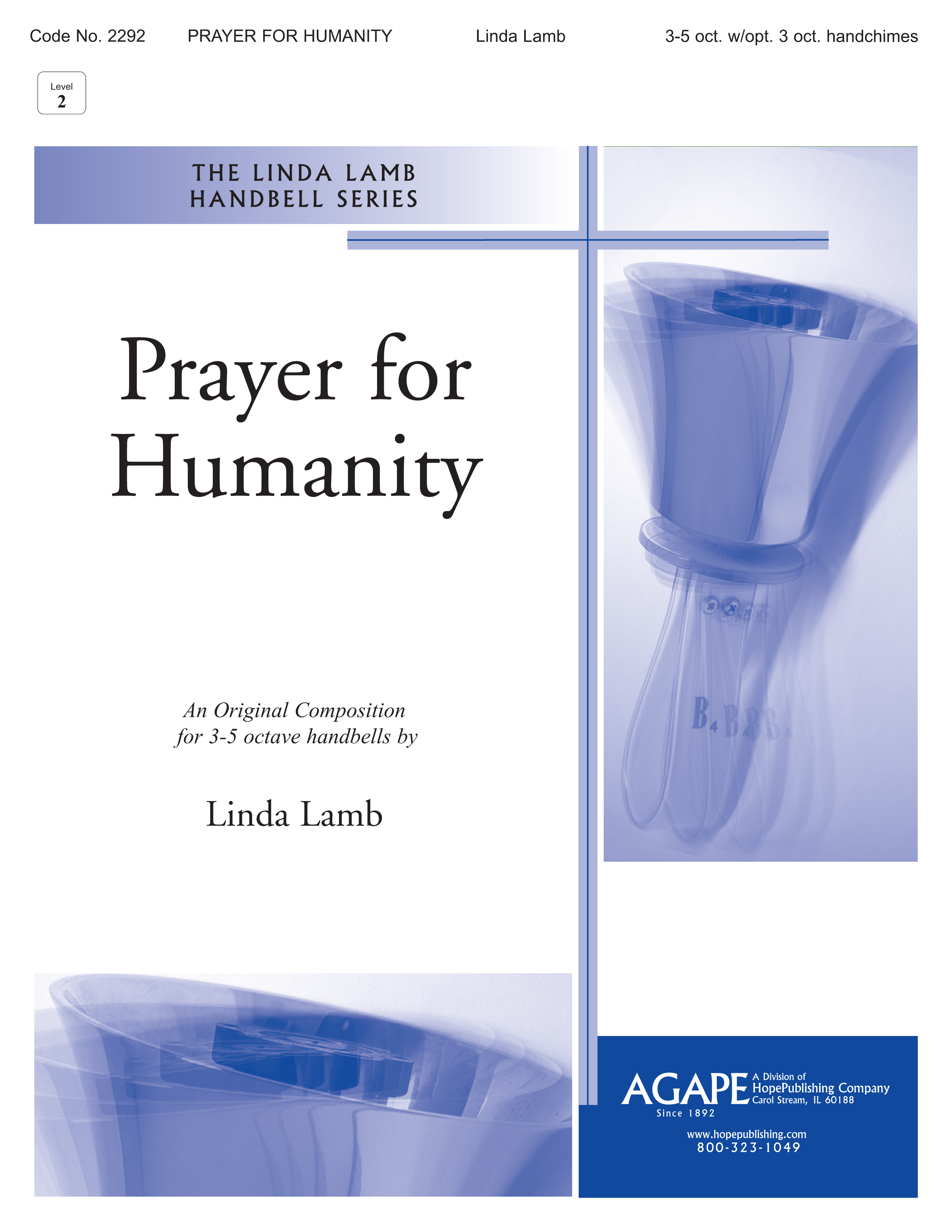 Prayer for Humanity - 3-5 Octave Cover Image