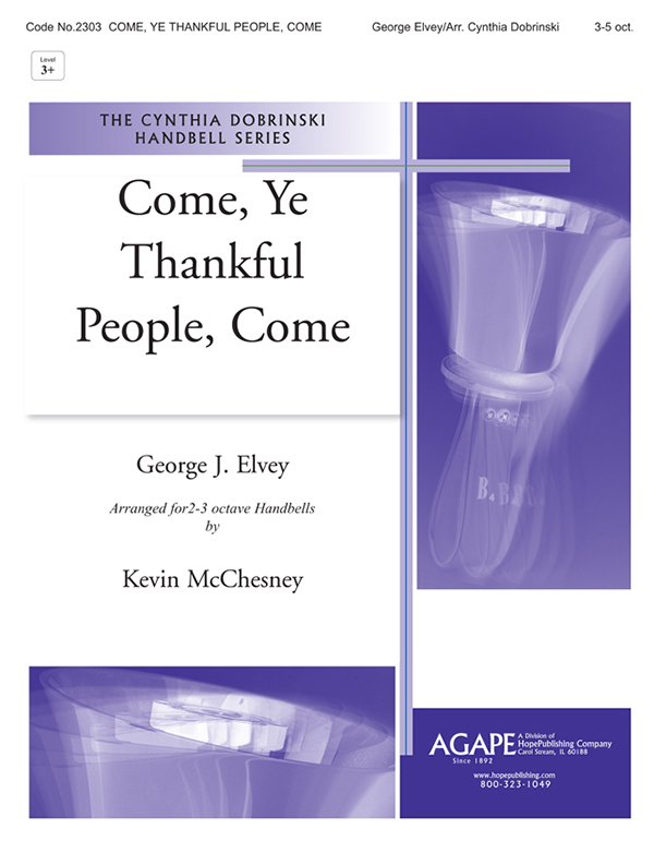 Come Ye Thankful People Come - 3-5 Octave Cover Image