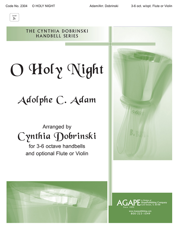 O Holy Night - 3-6 Octave w-opt. Flute Cover Image
