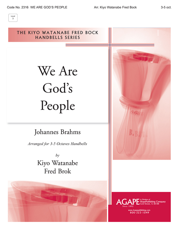 We Are God's People - 3-5 Octave Cover Image
