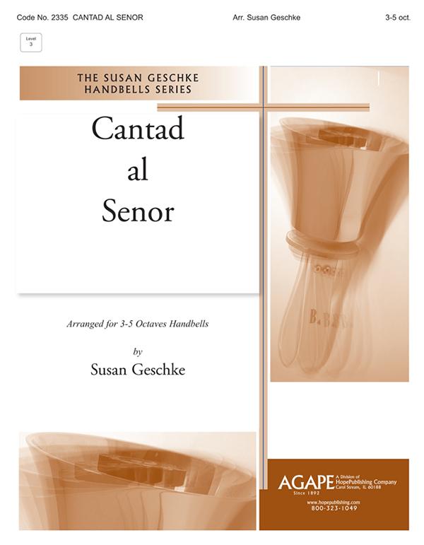 Cantad al Señor - 3-5 Octave Cover Image