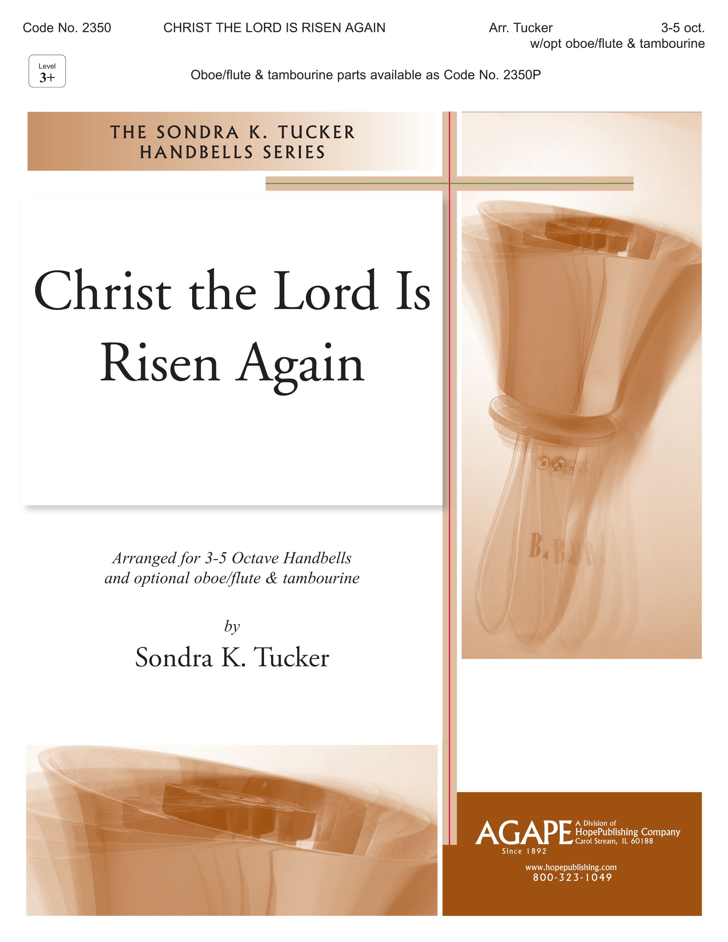Christ the Lord Is Risen - 3-5 Octave Cover Image