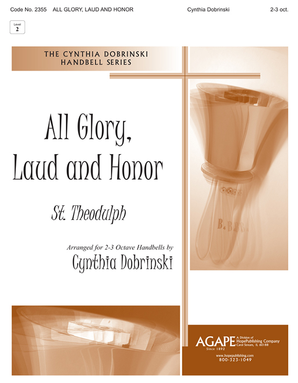 All Glory Laud and Honor - 2-3 Octave Cover Image