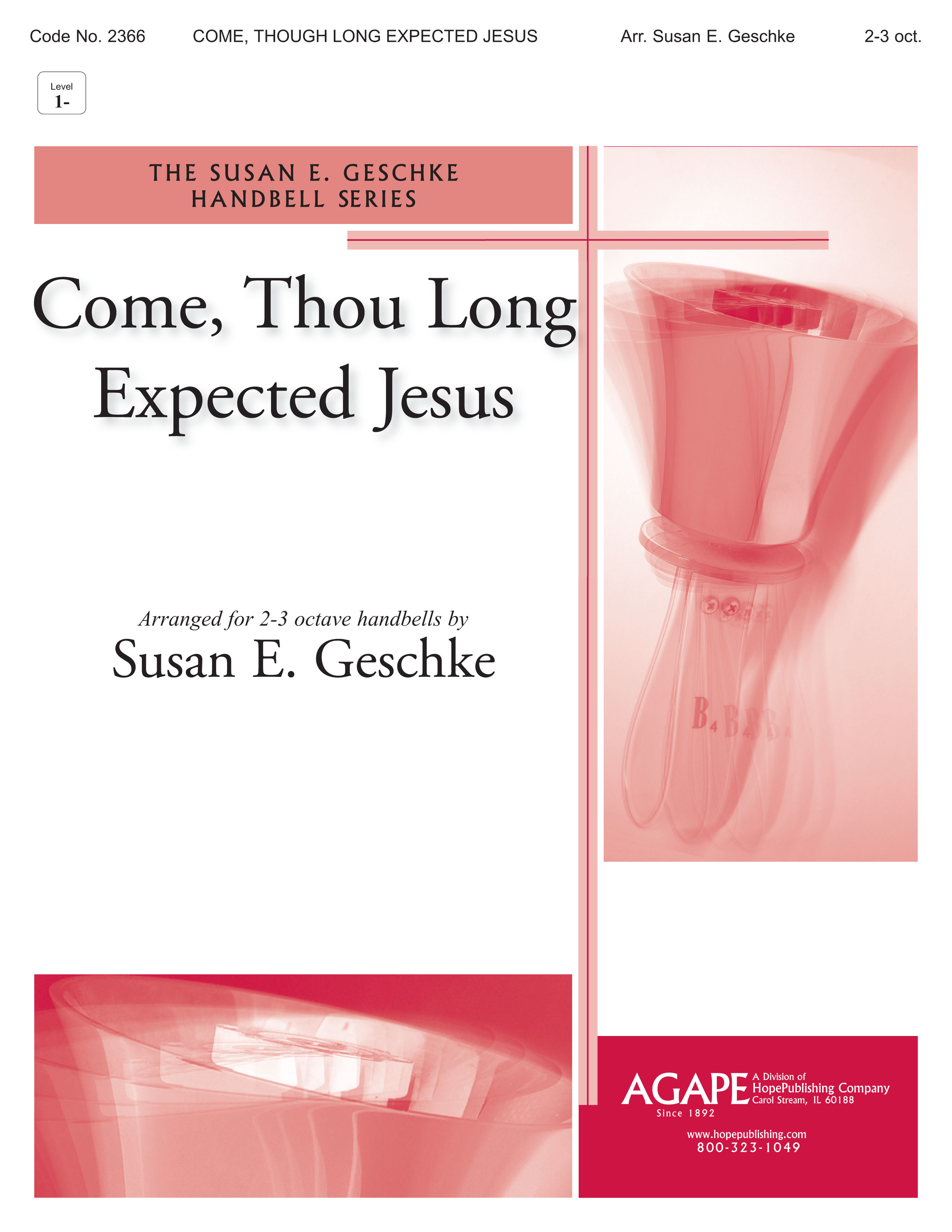 Come Thou Long-Expected Jesus - 2-3 Octave Cover Image
