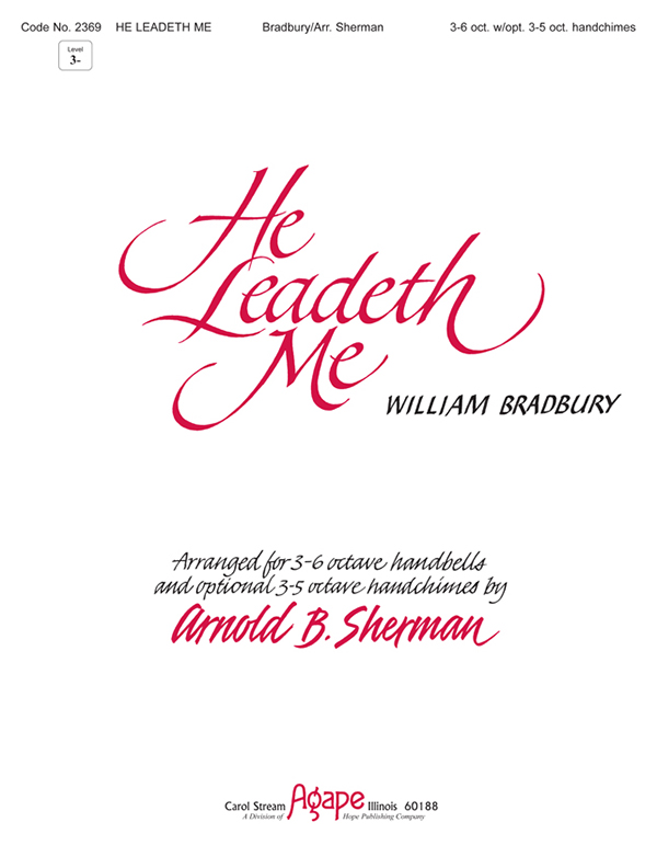 He Leadeth Me - 3-6 Octave Cover Image