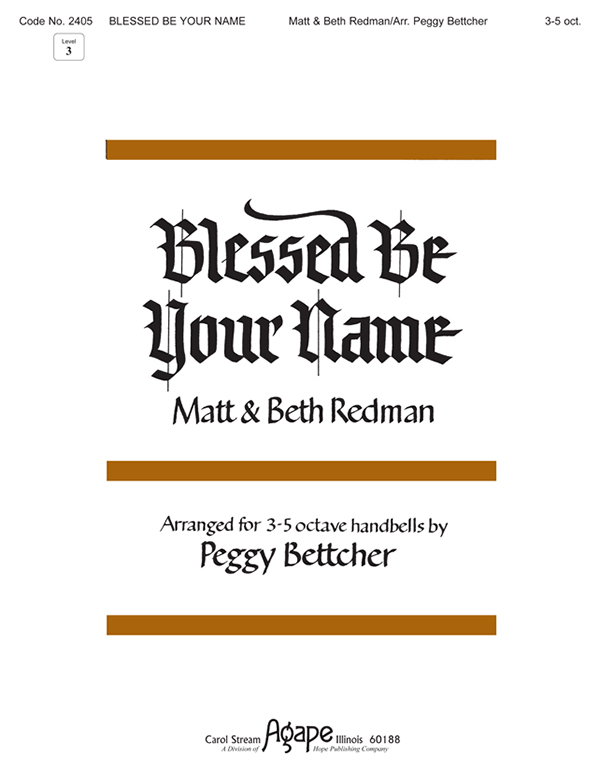 Blessed Be Your Name - 3-5 Oct. Cover Image
