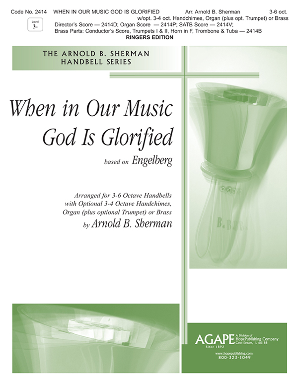 When in Our Music God Is Glorified - 3-6 Oct. Cover Image