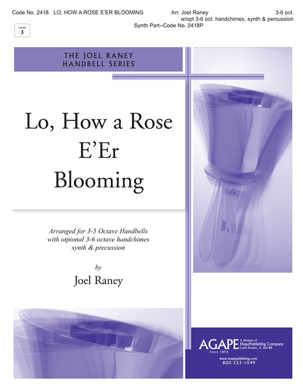 Lo How a Rose E'er Blooming - 3-6 Oct. Cover Image