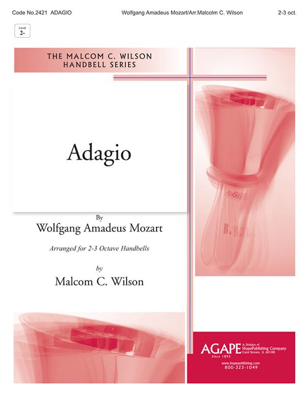 Adagio - 2-3 Oct. Handbell Cover Image