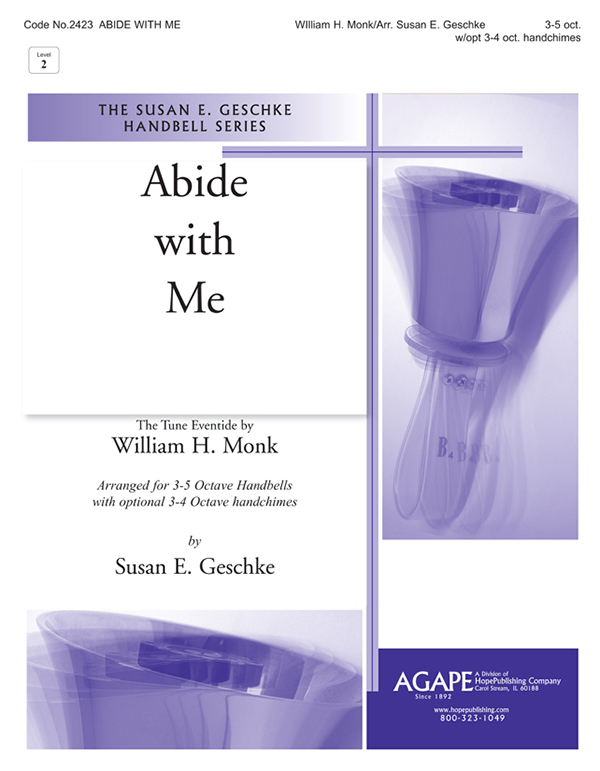 Abide with Me - 3-5 Oct. Handbell Cover Image