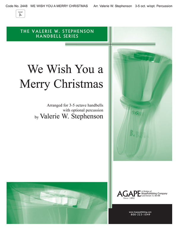We Wish You  Merry Christmas - 3-5 Oct. Handbell Cover Image