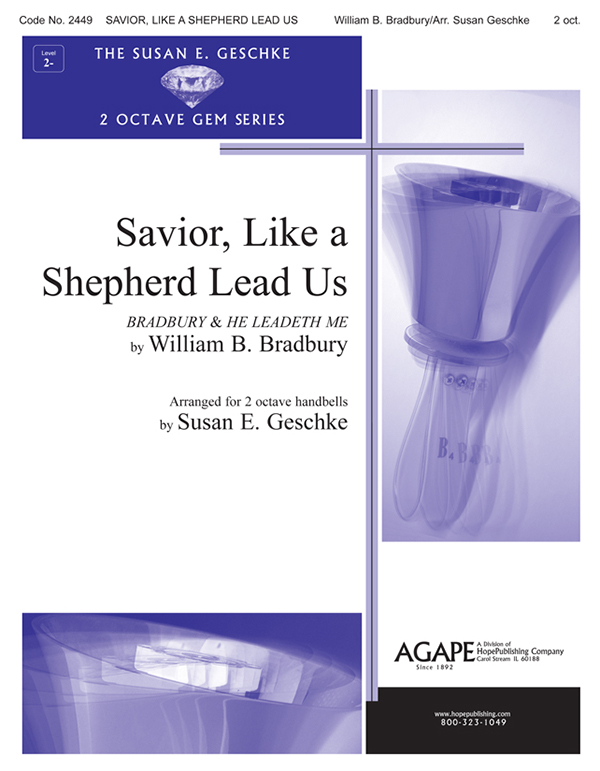 Savior Like a Shepherd Lead Us - 2 Oct. Handbell Cover Image
