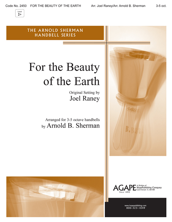 For the Beauty of the Earth - 3-5 Oct. Cover Image