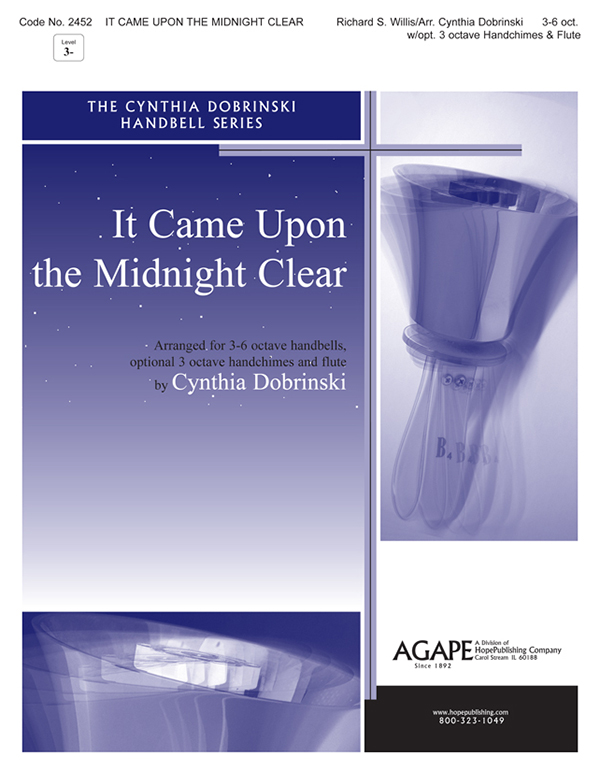 It Came Upon the Midnight Clear - 3-6 Oct. Handbell Cover Image