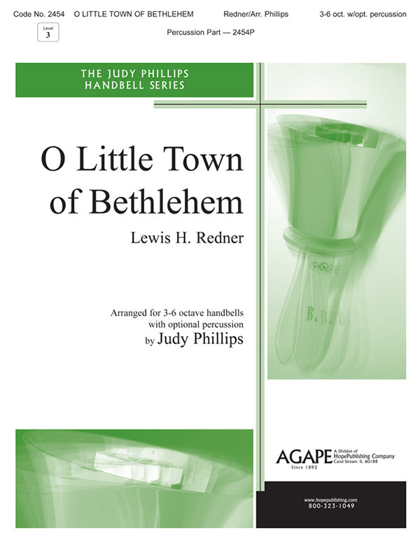 O Little Town of Bethlehem - 3-6 Oct. Handbell Cover Image