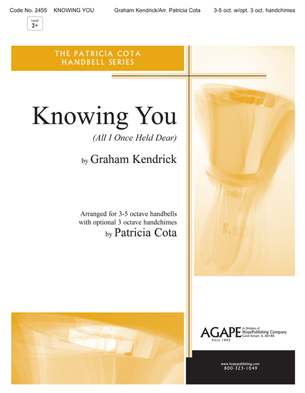 Knowing You - 3-5 Oct. Handbell Cover Image