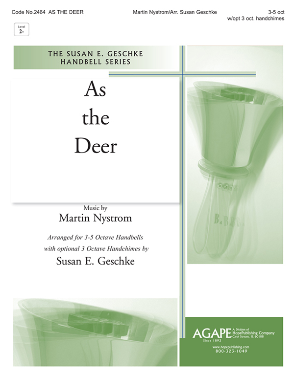 As the Deer - 3-5 oct. Cover Image