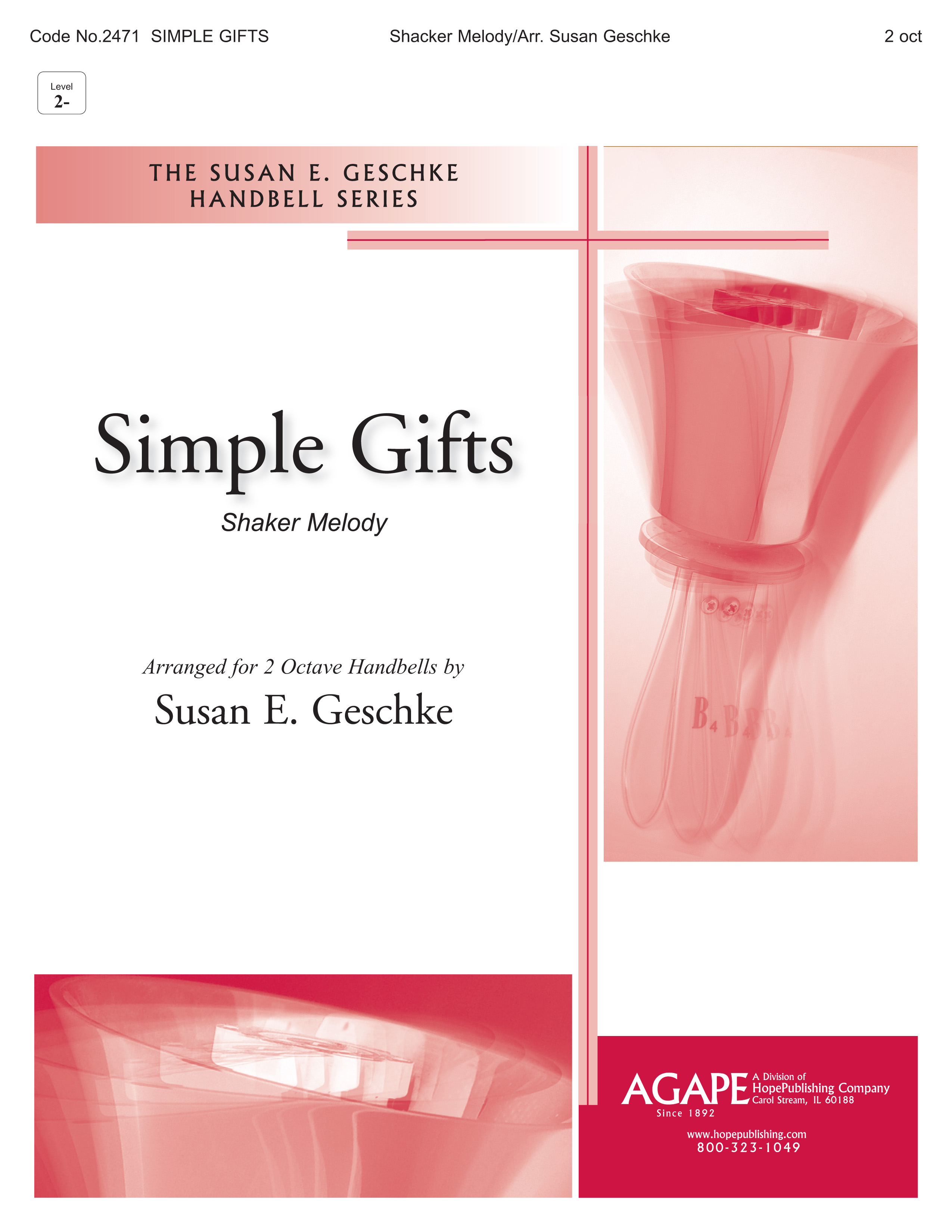 Simple Gifts - 2 oct. Cover Image