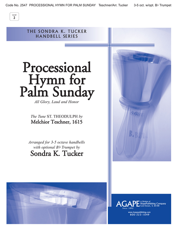 Processional Hymn for Palm Sunday - 3-5 Oct. w-opt. Trumpet Cover Image