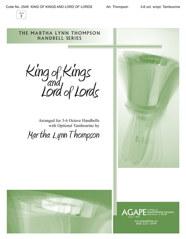 King of Kings and Lord of Lords - 3-6 Oct. w-opt. Tambourine Cover Image