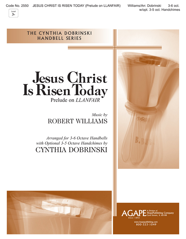 Jesus Christ Is Risen Today - 3-6 Oct. w-opt. 3-5 Oct. Handchimes Cover Image