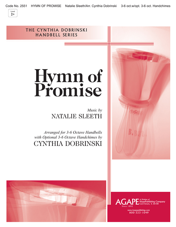 Hymn of Promise - 3-6 Oct. w-opt. 3-6 Oct. Handchimes Cover Image