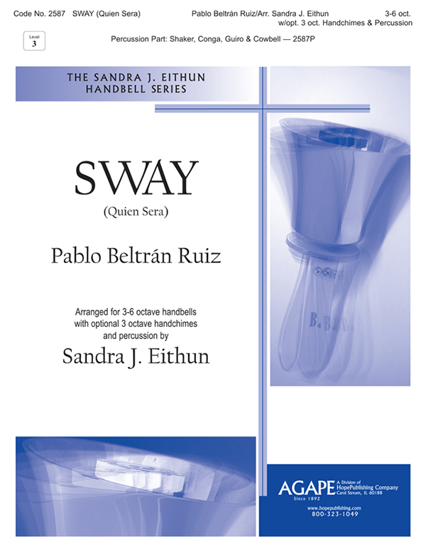 Sway (Quien Sera) - 3-6 Oct. w-opt. 3 oct. chimes and perc. Cover Image