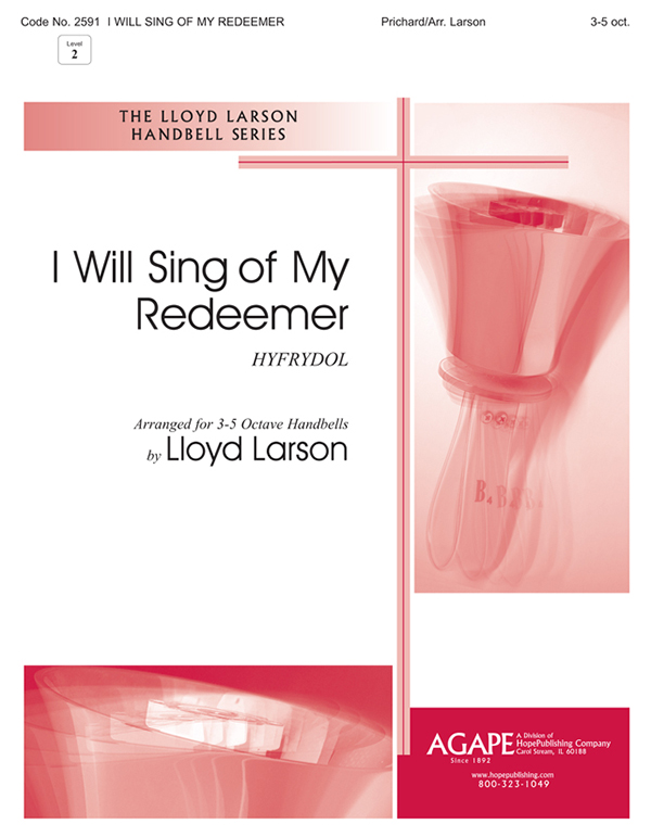I Will Sing of My Redeemer - 3-5 oct. Cover Image