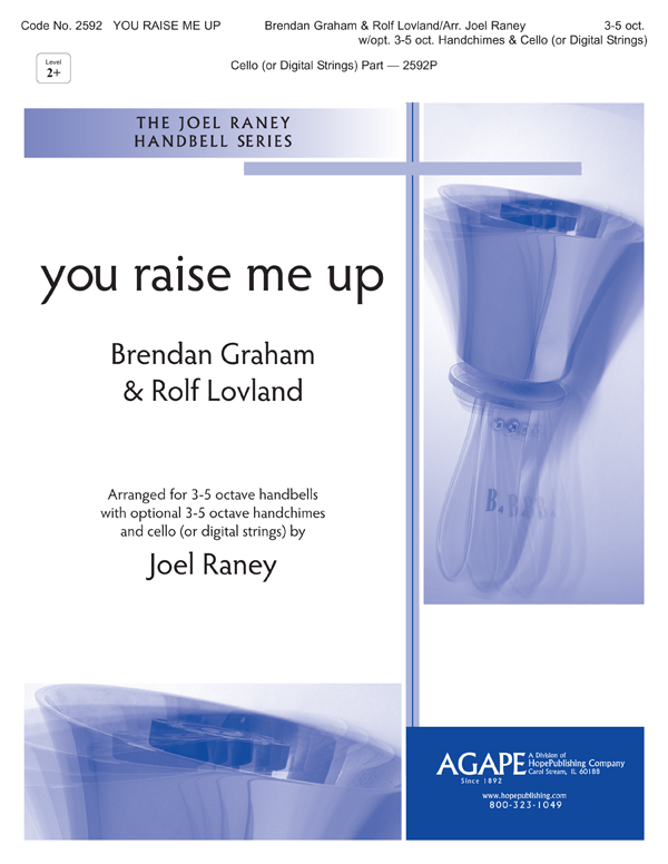You Raise Me Up - 3-5 oct. w-opt. 3-5 oct. handchimes and cello (digital strings) Cover Image