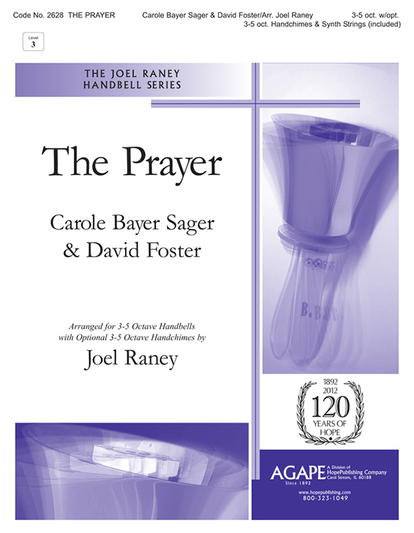 The Prayer - 3-5 Oct. w-opt. 3-5 Oct. Handchimes and Synth Strings (included) Cover Image