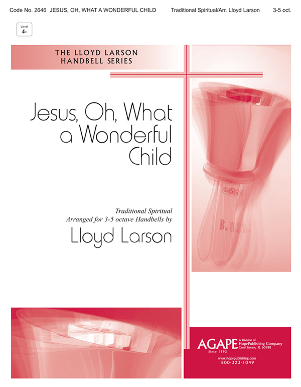 Jesus Oh What a Wonderful Child - 3-5 Oct. Cover Image