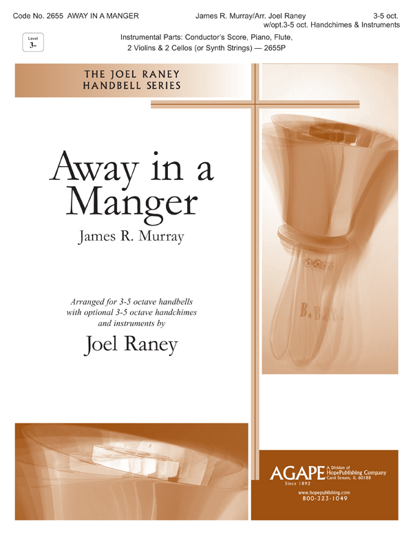 Away in a Manger - 3-5 Oct. Cover Image