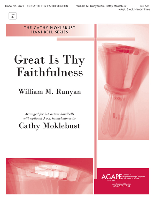 Great Is Thy Faithfulness - 3-5 Oct. w-opt. 3 Oct. Handchimes Cover Image