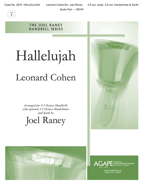 Hallelujah - 3-5 Oct. w-opt. 3-5 Oct. Handchimes and Synth Cover Image