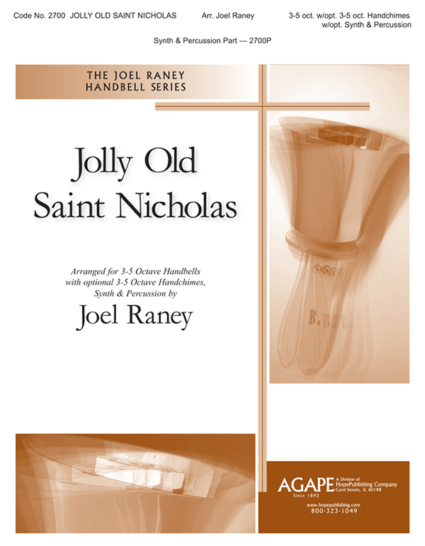 Jolly Old Saint Nicholas - 3-5 Oct. w-opt. 3-5 Oct. Handchimes Cover Image