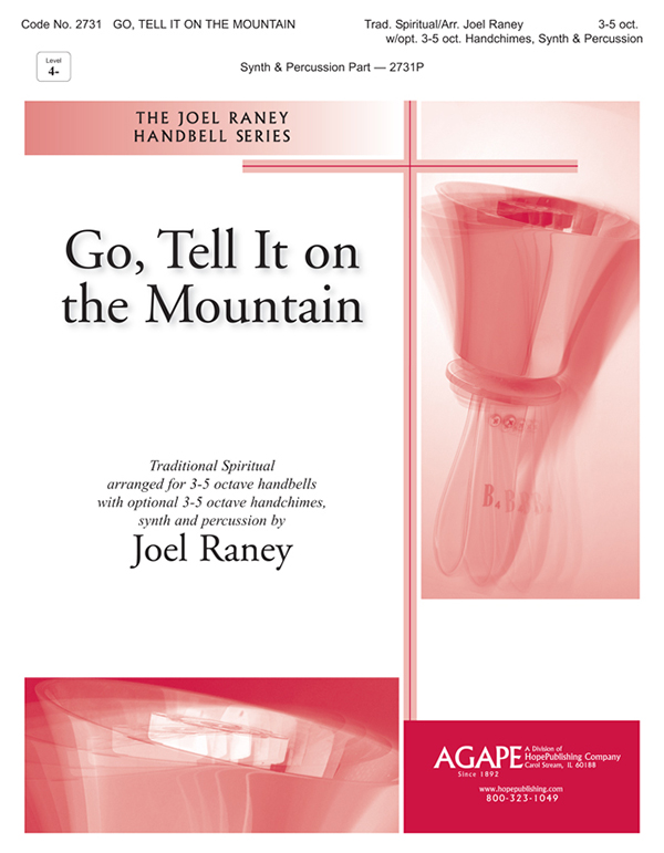 Go Tell It on the Mountain - 3-5 Oct. Bells and 3-5 Oct. Chimes w-opt. Synth and Pe Cover Image